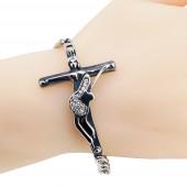 Bracelet réplique croix de Johnny